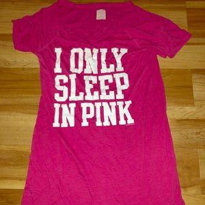 Victoria's Secret PINK tee shirt dress